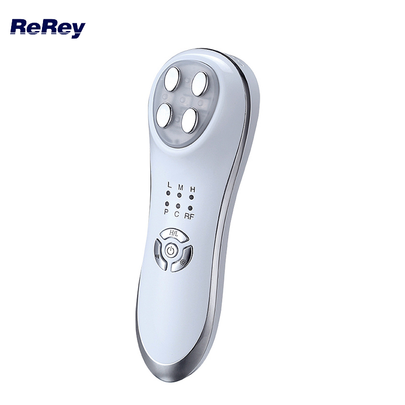 Radio Frequency Lifting Machine Needle Free Mesotherapie Skin Rejuvenation LED Photon Electroporation RF Facial Body Massager mini portable usb rechargeable ems rf radio frequency skin stimulation lifting tightening led photon rejuvenation beauty device