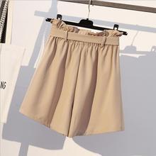 High Waist Bow Casual Short Pants SF