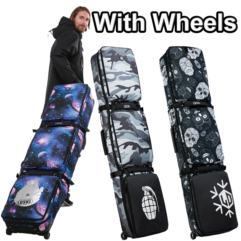 5066c33ad5b3 Detail Feedback Questions about Big Monoboard snowboard bag large  camouflage mountain skiing waterproof protective pouch professional sport  ski equip with ...