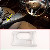 Right Hand Drive Car Cup Holder Cover Trim For Mercedes Benz CLA GLA A Class C117 W176 X156 2012 2019 ABS Chrome Accessoires RHD