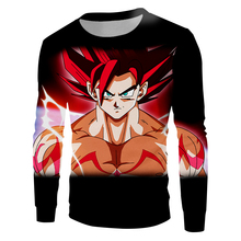 Dragon Ball Flame 3D Sweatshirt