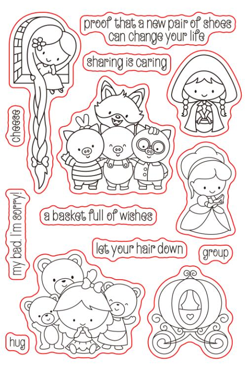 Long Hair Princess Transparent Clear Silicone Stamp/Seal for DIY scrapbooking/photo album Decorative clear stamp sheets A557 lovely animals and ballon design transparent clear silicone stamp for diy scrapbooking photo album clear stamp cl 278