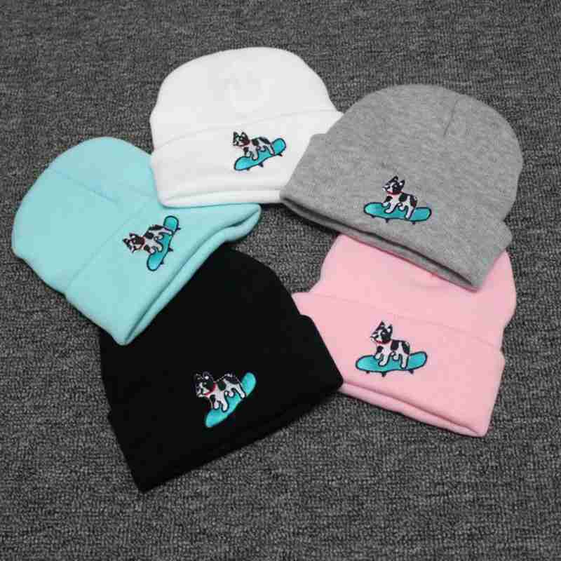 Kawaii Bonnet Femme Knitted Hats Love Pink Hats Ladies Spring And Autumn Cap Women Beanies And Skullies Gift YJWG261