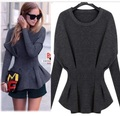 Nueva genuino puro suéter de cachemira mujeres de la alta moda batwing camisa suéter de cachemira de lana de oveja tejida envío libre S39