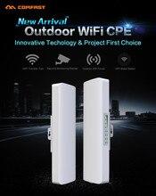 2 unids 14dBi COMFAST Receptor de 2.4 Ghz Al Aire Libre Wifi Router Wi fi puente amplificador de señal de la Antena CPE nanostation IP del Router cámara