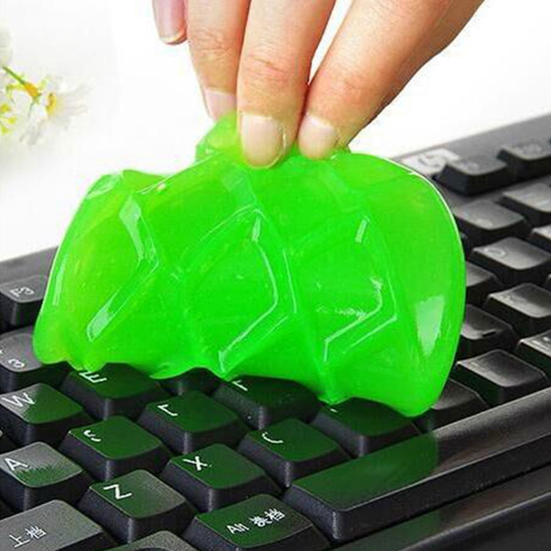 1 Pcs High-Tech Magic Dust Cleaner Compound Super Clean Slimy Gel For Car Air Vent Phone Laptop Pc Computer Keyboard