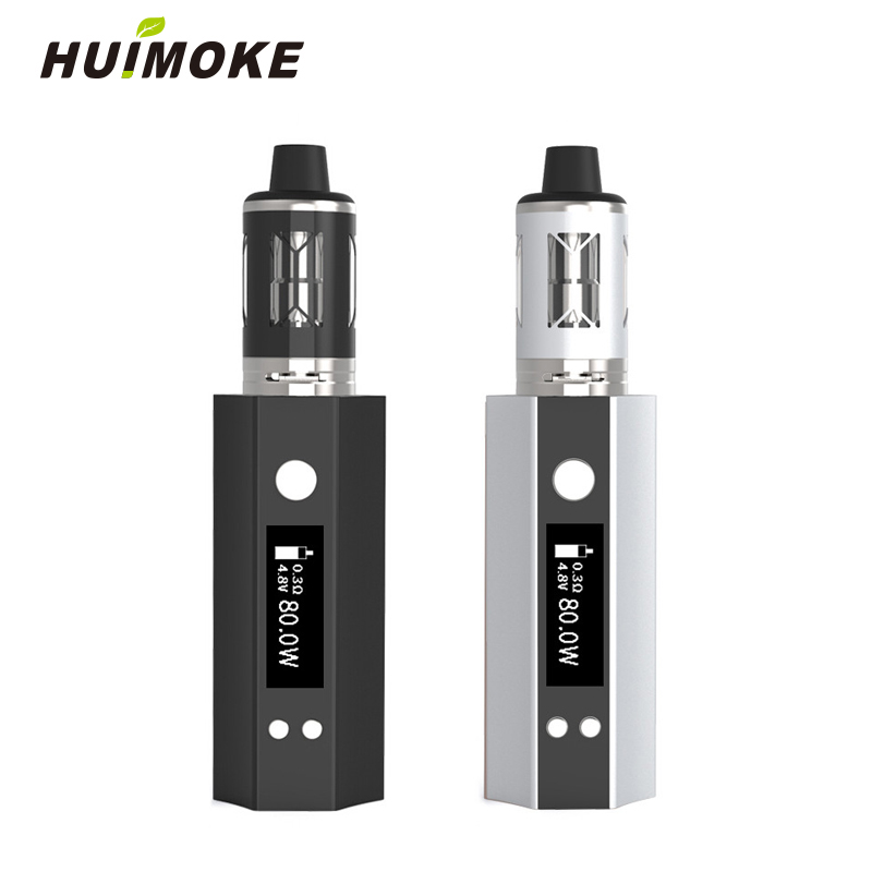 Vapor 12W To 80W Starter Kit 510 Metal Thread Atomizer E-cigarette Vape Vaporizer Box Mod 0.3ohm vs BIG BOX MINI 80W
