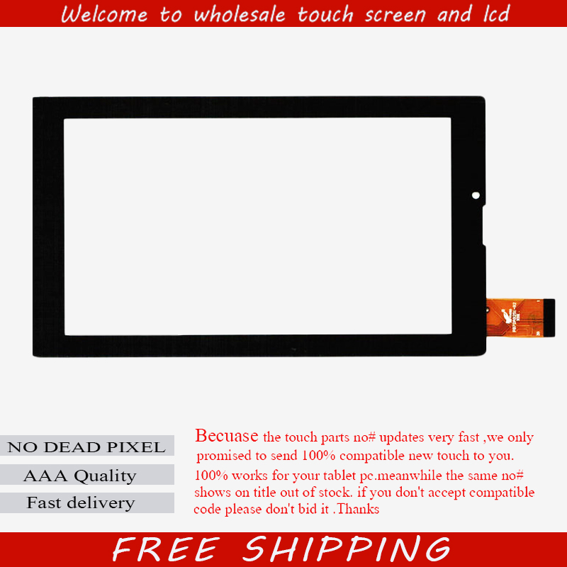New For 7 Digma Optima Prime 3G TT7000PG Tablet touch screen Touch panel Digitizer Glass Sensor Replacement Free Shipping new touch panel digitizer for 10 1digma optima 1015 3g tt1121pg tablet touch screen glass sensor replacement free shipping