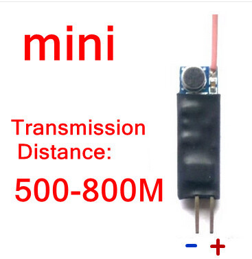 Mini Uhf Fm Radio Microphone Module(China)
