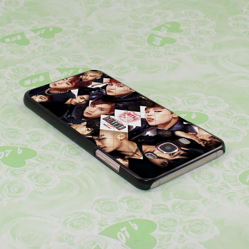 BTS bangtan Boys 15 design hard black Case for Samsung Galaxy J7 J5 2016 J7 Prime J510 J5 Prime J3 J2 2016 J1