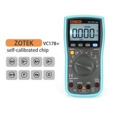 цены 6000 Counts True-RMS Multimetro Digital Multimeter Auto Range Transistor Tester esr Clamp Meter Multimetre analogico