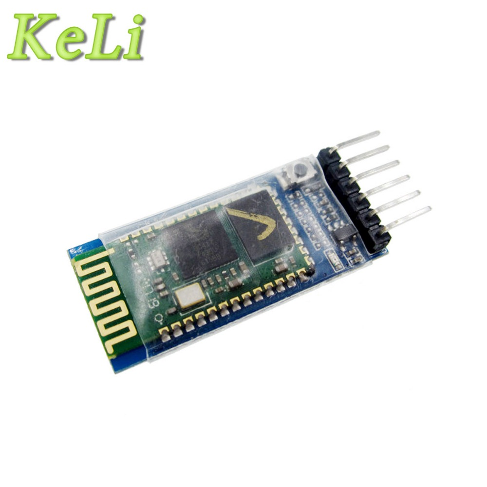 1pcs/lot HC-05 HC 05 RF Wireless Bluetooth Transceiver Slave Module RS232 / TTL to UART converter and adapter usr ble101 cheap uart ttl v4 1 bluetooth module master and slave mode supported built in ibeacon protocol 10pcs lot
