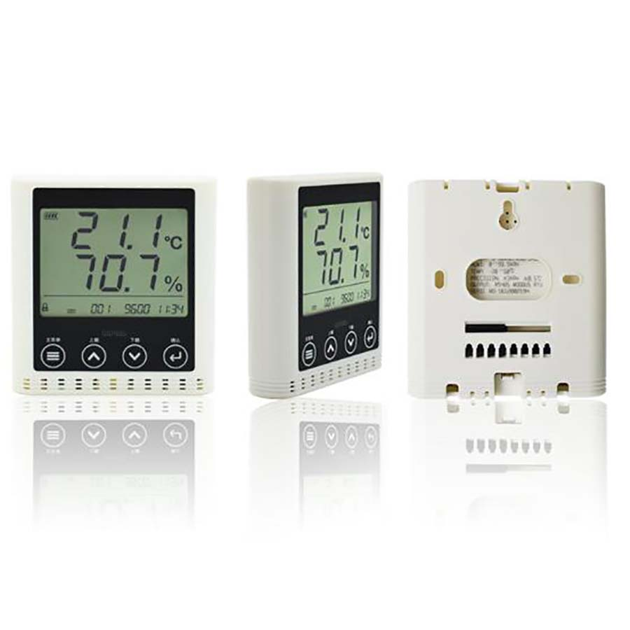 GSP885 Network Type Temperature and Humidity Transmitter High Precision Large Screen Temperature and Recorder shanghai precision temperature and humidity recorder dr 210c with a micro printer can connect the computer