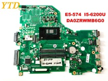 Original for ACER E5-574 laptop motherboard E5-574 I5-6200U DA0ZRWMB6G0 tested good free shipping