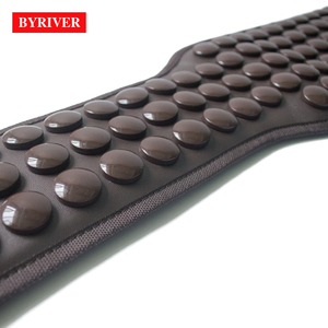 Image 3 - BYRIVER Korea Tourmaline Massage Belt Far Infrared Ray Heating Health Stomach Waist Heated Massager Germanium Magnetic Stone