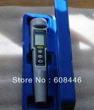 High accuracy LCD digital Waterproof Pen type Salt Meter tester 0to9999 mg/L free shipping
