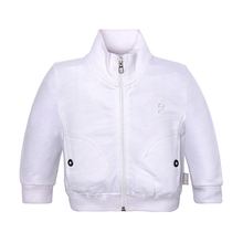 Quality goods new baby boys clothes 100% cotton turtleneck outerwear coats spring autumn baby full solid jackets coat C001