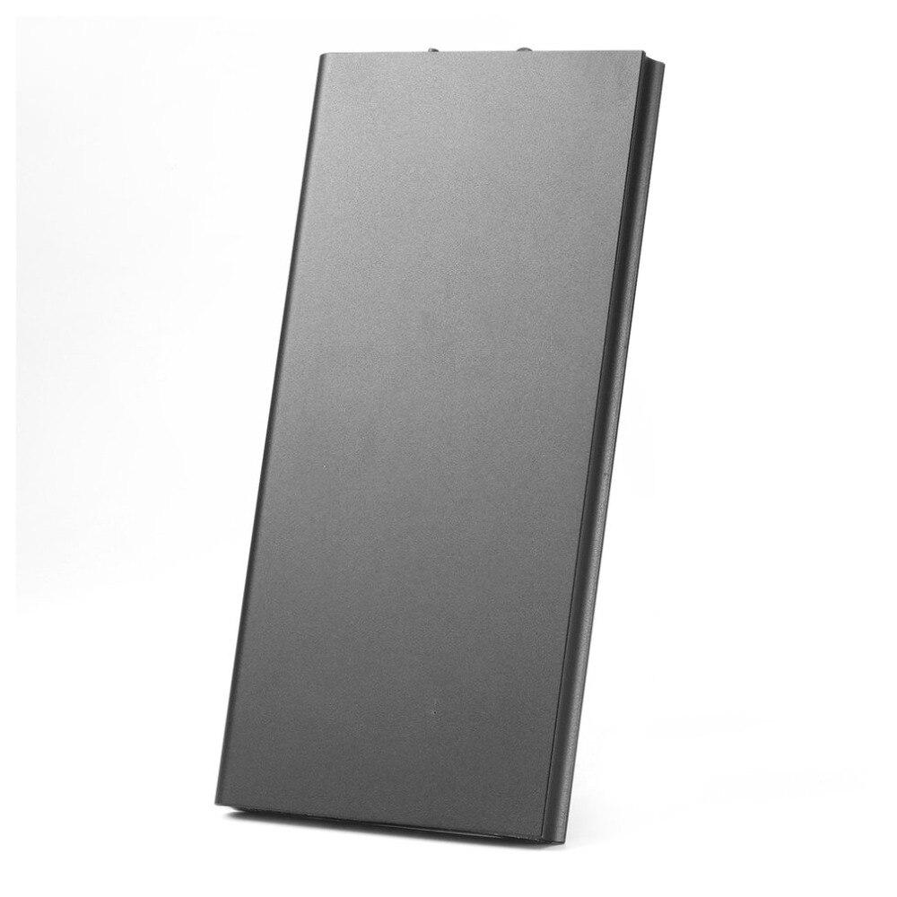 20000mah Portable Ultra Thin Powerbank Dual USB Quick Extern