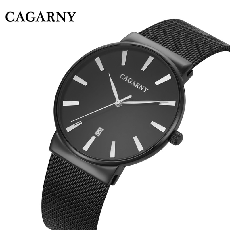 new arrived unisex hight quality Business calendar Milan steel belt dresswatch luxury brandTeenagers casual Ultrathin dial watch