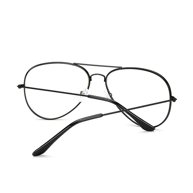357a6f0aa0f JUSTRUE Classic Aviator Eyeglasses High quality Clear Lens Glasses Women  Men Optical Eye glasses Oversized Frame-in Eyewear Frames from Apparel  Accessories ...