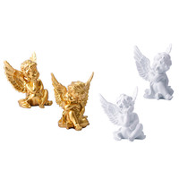 Roman Mythology Amoretto Cupid Statue Craftwork Model Home Decorations G1451