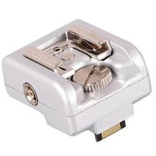 Флэш Горячий башмак адаптер с ПК Джек для Sony NEX 3 5 7 серии Камера для Canon Nikon Yongnuo OLOONG Godox WanSen Speedlite