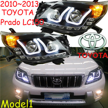 Prado headlight,FJ150 2700,4000,2010~2013,Free ship! Prado fog light,2ps/set+2pcs Ballast,Prado driver light