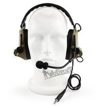 Military Shooting Paintball Equipment Tactical  Noise Cancellor Peltor comtac III  Electronic Headset Emerson gear free shipping ゲーム ポート ピン