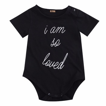 summer romper 2018 wholesale newborn baby boys girls short sleeve romper outfits set 0-24M