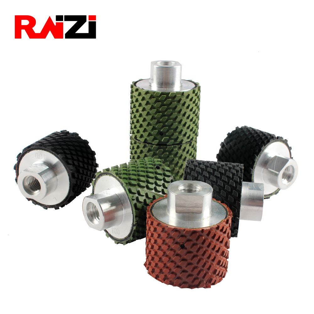 Raizi 2 Inch Resin Bond Wet Diamond Drum Grinding Wheels For Granite, Marble, Engineered Stone 50 mm Polishing Wheel