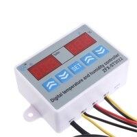 DC 220 V 24 V 12 V 2 in 1 Digitale display Temperatuur vochtigheid Controller thermostaat vochtigheid met Sensor W315