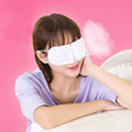 Eyeshade Eye Cover Polyester Sleeping Mask Travel Long Eyelashes Blindfold Gift For Women Girls