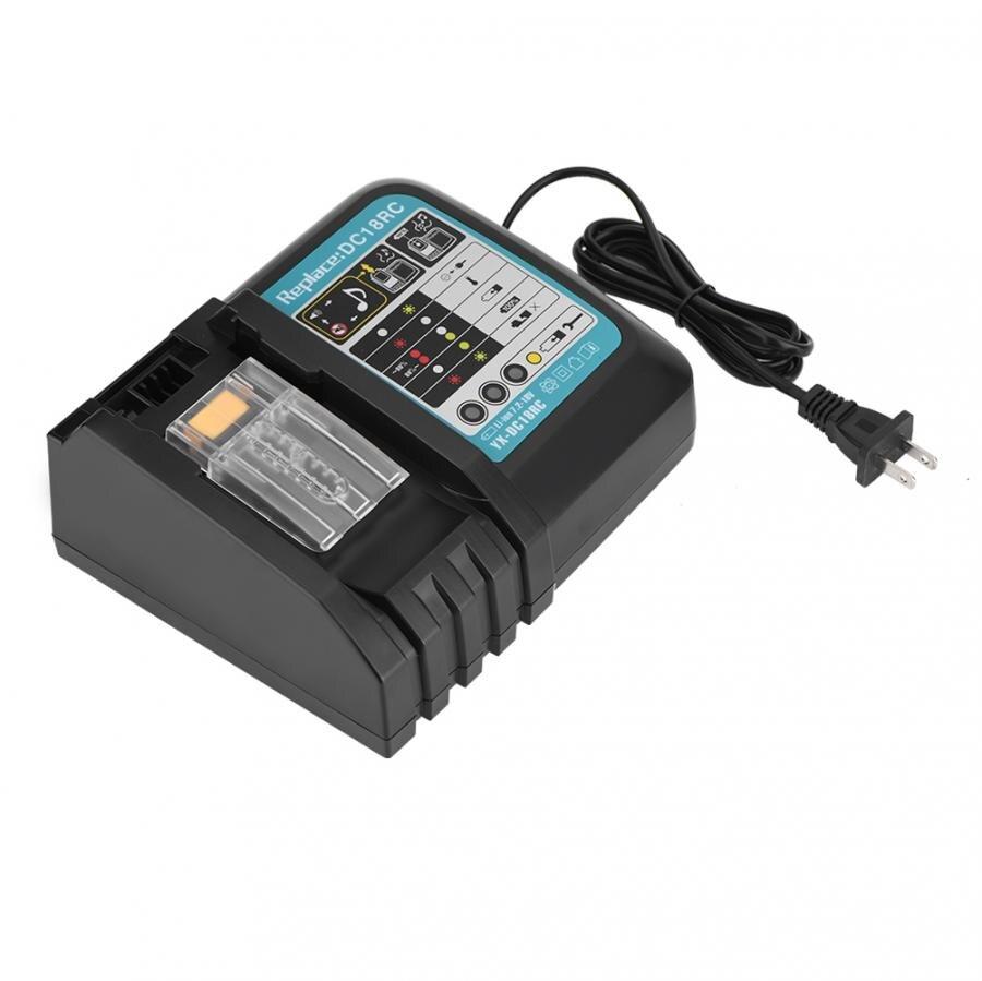 14.4 V-18 V 3A Li-Ion chargeur de batterie rapide pour Makita Power Tool US Plug