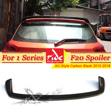 F20 rear trunk Spoiler wing Carbon Fiber AC-Style Fits For BMW 1 Series 118i 120i 128i 130i 135i Rear Roof Wing 2012-in