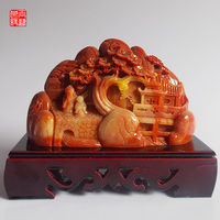 Stone Shoushan Stone Carving And Decoration Feng Shui Home Stone Crafts Home Furnishing Fun Gift Collection