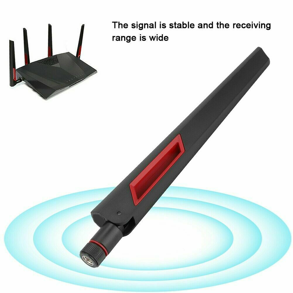 WiFi Antenna 10dbi 2.4G/5G/5.8G Dual-band Antenna Wireless LAN/Wi-Fi Router Adapter