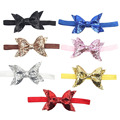 Fioday 1 PC Baby Kids Girls Toddler Newborn Children Sequined Bow Knot Headband Hairband Bling Fashion Hair Band Accessories
