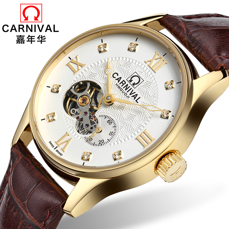 Swizeland Carnival Brand Luxury Men Watches Automatic Mechanical Watch Men Sapphire reloj hombre relogio Wristwatches C8671-7 wrist switzerland automatic mechanical men watch waterproof mens watches top brand luxury sapphire military reloj hombre b6036