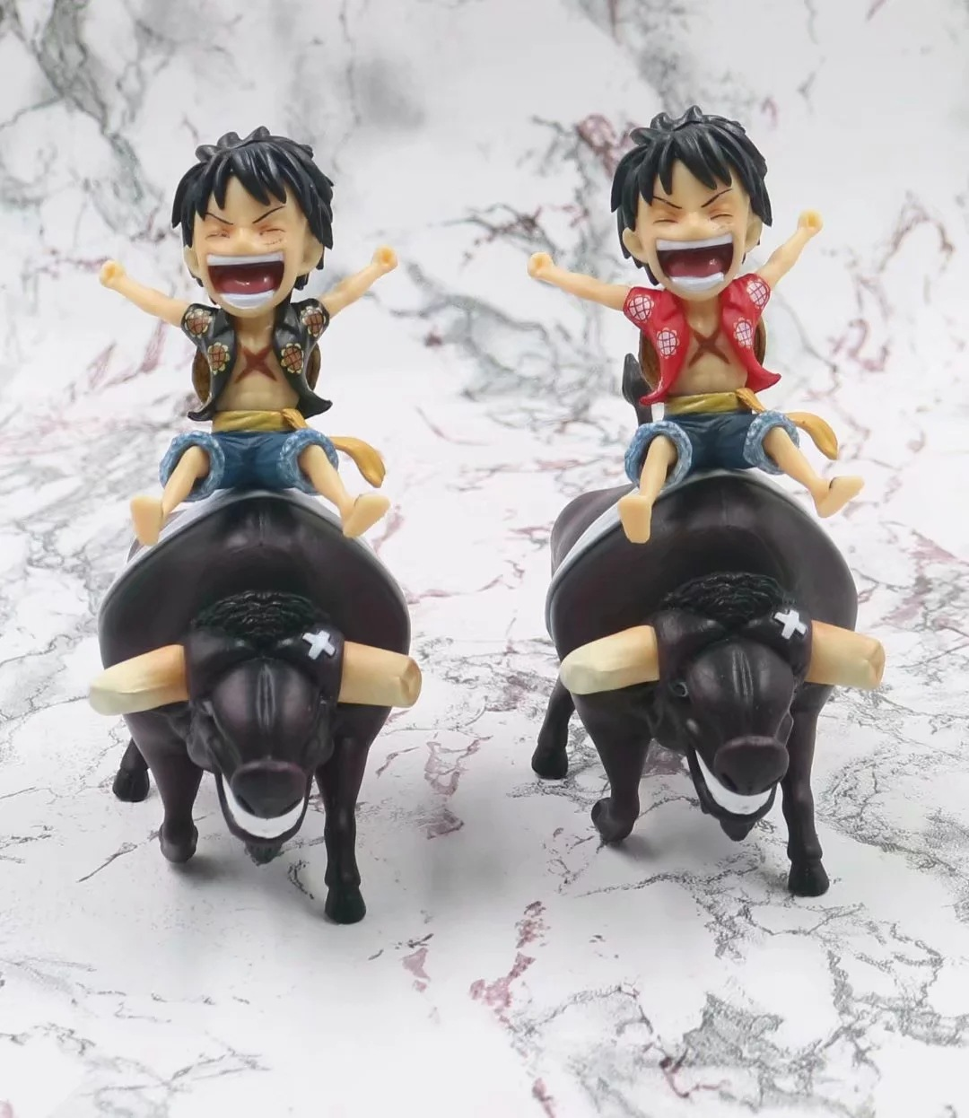 Anime One Piece Luffy Riding A Cow Ver Action Figure 1/8 Scale Painted Figure Monkey D Luffy Pvc Figure Toys Superior In Quality