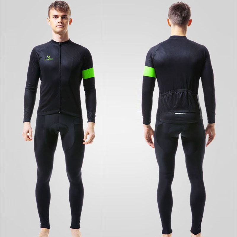 Aliexpress.com   Buy X Tiger Autumn Long Sleeve Cycling Clothing Set  Breathable Bicycle Wear Anti sweat MTB Bike Cycling Jersey Ropa Maillot  Ciclismo from ... f178c3fdc
