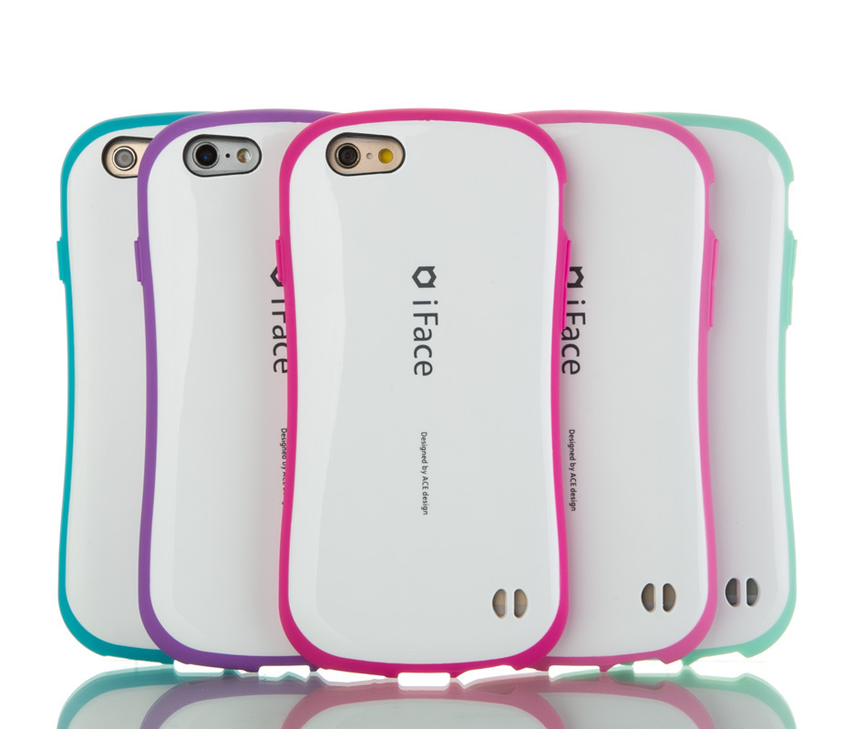 new style e48d6 68012 US $3.11 20% OFF|Korea Style iface Case For Apple iPhone 5 5S Cases Shock  Absorbing PC Hard + Silicone Cover for iPhone SE Back Phone Cover Bag-in ...