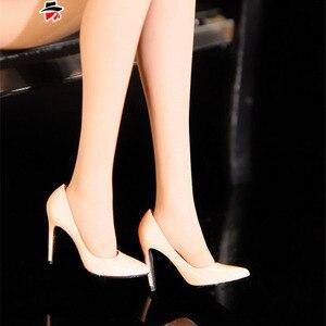 Image 5 - En Stock Feeltoys 1/6 1/12 échelle OL femme chaussures à talons hauts fille poupées chaussures pour 6 pouces 12 pouces figurine daction