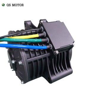 Image 4 - QS 138 3000W 72V 100KPH אמצע כונן מנוע כוח רכבת ערכות עם מנוע בקר