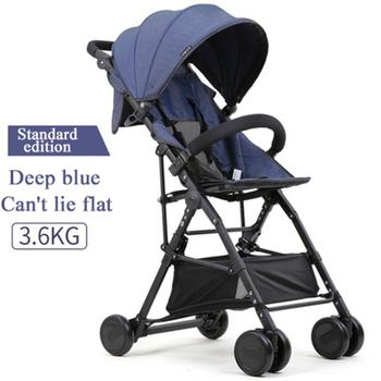 5 free gifts! directly boarded 3.6 kg light stroller can sit and lay cotton and lie car material high landscape stroller
