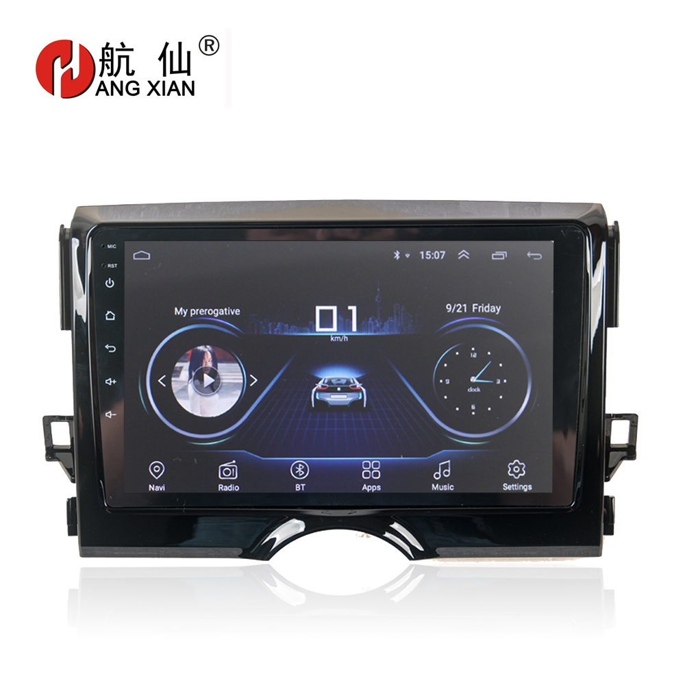 "HANG XIAN 9"" Quadcore Android 8.1 Car radio stereo for Toyota Reiz 2010-2013 car dvd player GPS navigation car audio WIFI"