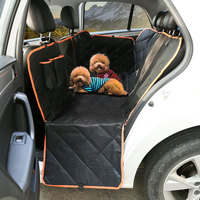Universal Car Pet Seat Covers Waterproof Back Bench Seat Fabric Car Interior Travel Accessories Seat Covers Mat for Pets Dog