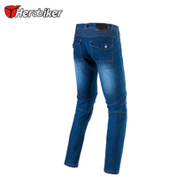Herobiker Men S Motorbike Motocross Off Road Knee Protective Moto Jeans Trousers Windproof Motorcycle Racing Jeans