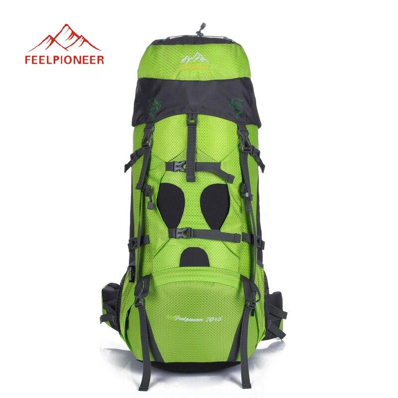 75L Открытый Отдых Пеший Туризм рюкзак профессиональный мешок восхождение большая емкость путешествия спортивные рюкзаки