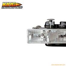Для 03-06 Cadillac Escalade Esv проектор фары Halo хром CCFL США Внутренний