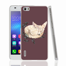 14476 white fox Cover phone Case for sony xperia z2 z3 z4 z5 mini plus aqua M4 M5 E4 E5 C4 C5